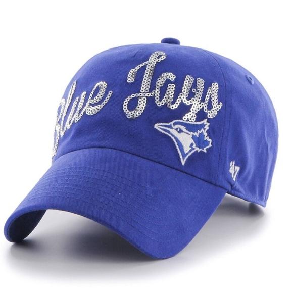 Toronto Blue Jays Sparkle Hat NWT
